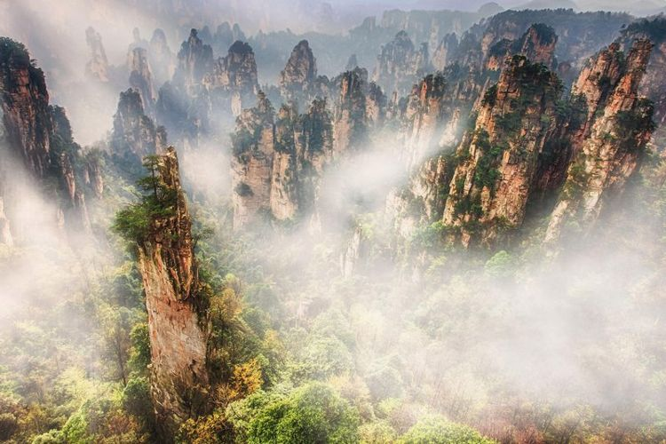 muntele-zhangjiajie-china