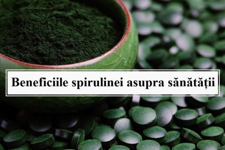 spirulina beneficii